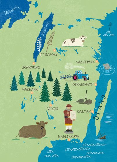 84 best map maker images on pinterest drawing tutorials maps lena sjberg maps of sweden gumiabroncs Image collections