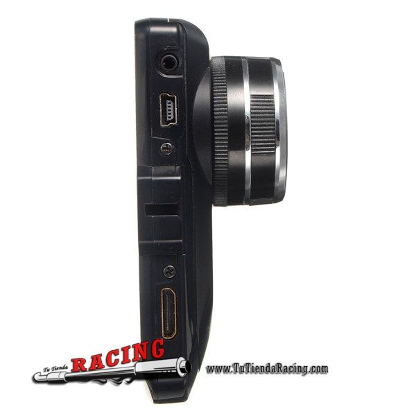 """32,79€ - ENVÍO SIEMPRE GRATUITO - Cámara/Grabadora Delantera de Seguridad con Sensor G y Cámara Nocturna 3"""" LCD 1080P DVR IR - TUTIENDARACING"""
