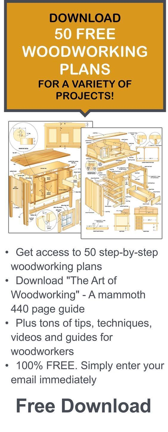 Get 50 Woodworking Plans & a 440-Page Guide Book ...