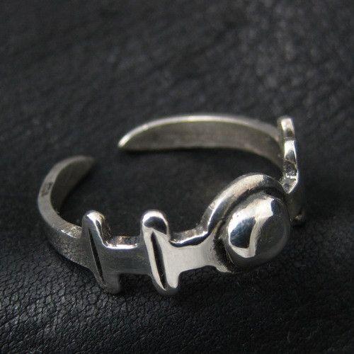 Silver Roman ring from The Sunken City by DaWanda.com