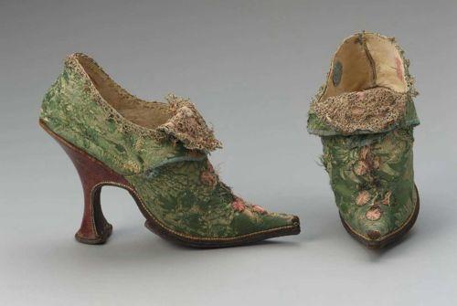 Shoes, 1700's-30's Europe, MFA Boston