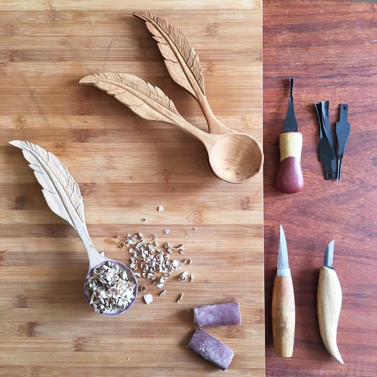 Images about carved spoons on pinterest