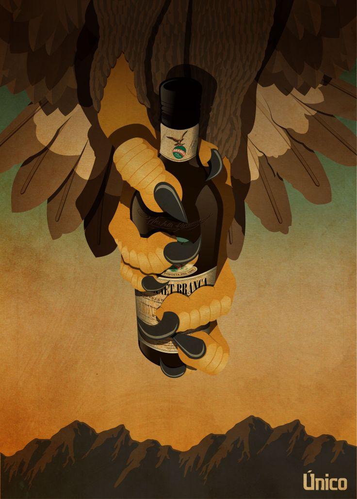 Afiche presentado en el concurso Arte Único de #Fernet #Branca 2014