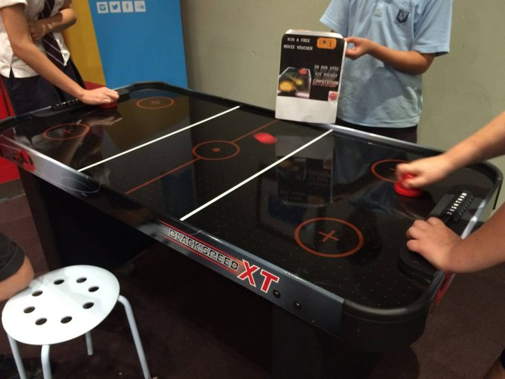 Youth Drop In Air Hockey Competition!