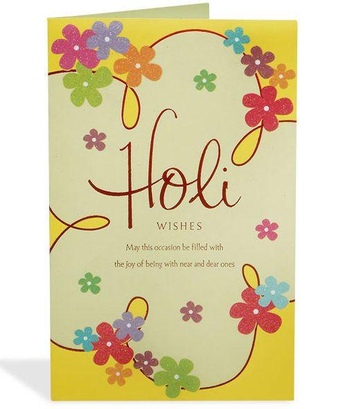 Happy Holi Cards Ideas Free