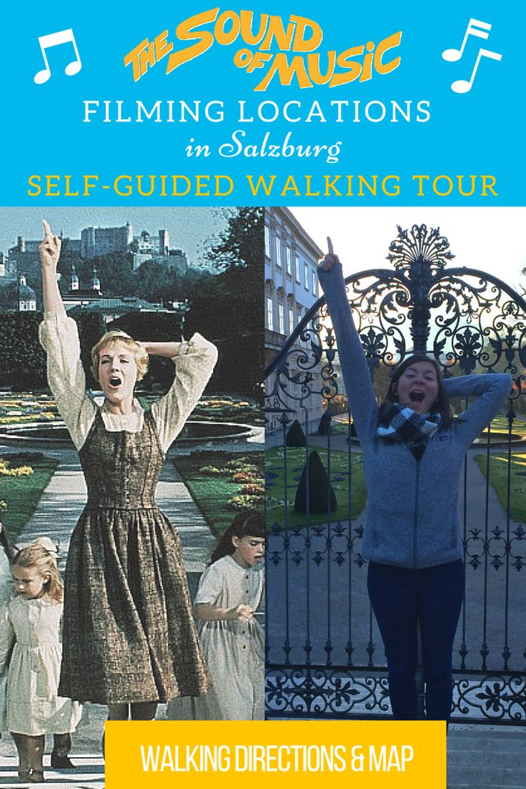 Sound of Music Filming Locations Self Guided Walking Tour (with map and written directions!)