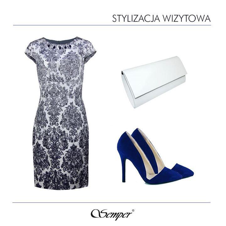 Niezwykle kobieca żakardowa sukienka - stworzona dla pewnych siebie, eleganckich kobiet.