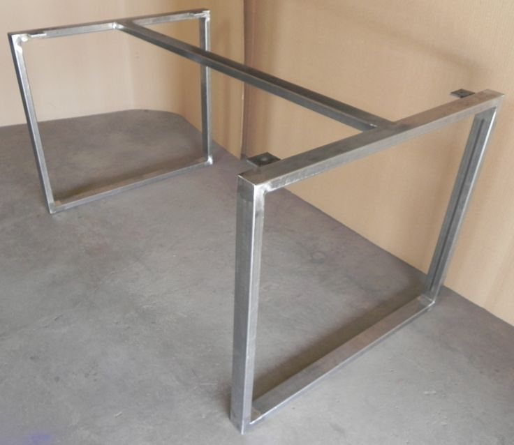 Fair Modern Iron Table Bases. Diy Dining ... Part 71