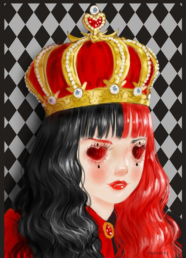 Queen of Hearts by Saccstry