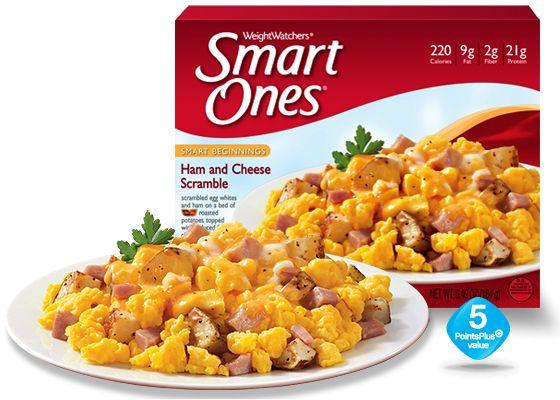 Ham and Cheese Scramble - Weight Watchers® Smart Ones®