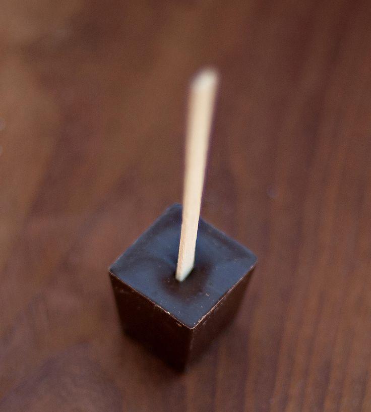 French Truffle Hot Chocolate Sticks - Ticket Chocolate