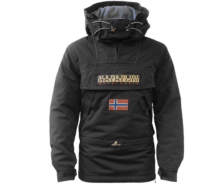 Napapijri Winter Skidoo Jacket Black - Terraces Menswear