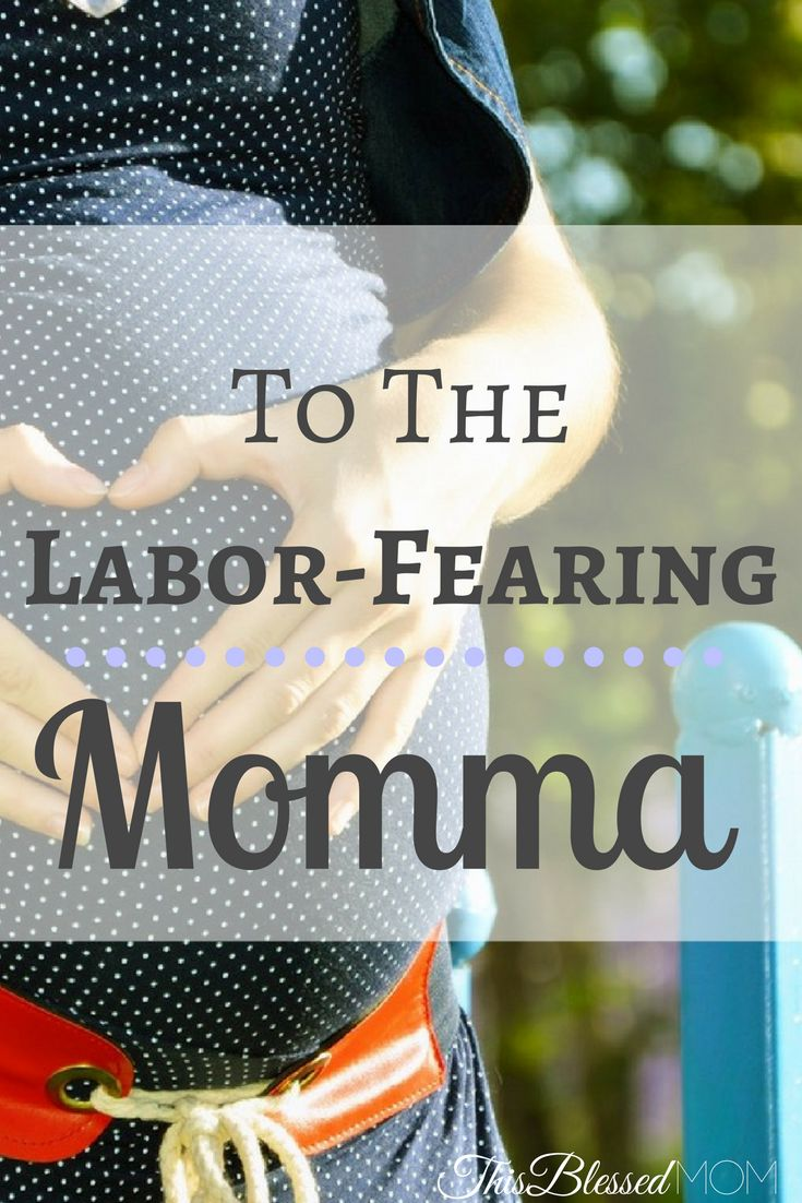 Are you a momma that's fearful of labor? Well, you're not the only one. Look to Jesus, and read this post to understand the blessings that come from labor.