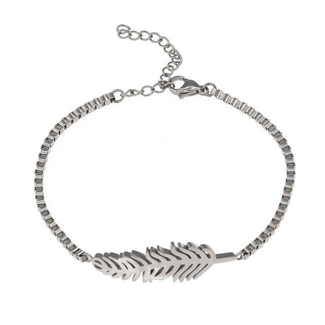 Ingnell Jewellery - Agnes bracelet steel. Stainless steel. www.ingnelljewellery.com