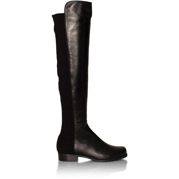 Stuart Weitzman 5050 Boot (9.004.835 IDR) ❤ liked on Polyvore featuring shoes, boots, stuart weitzman boots, stuart weitzman and stuart weitzman shoes