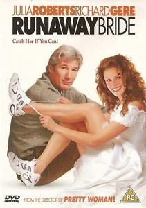 Discounted: Runaway Bride (DVD, 2000) As New Condition Richard Gere Julia Roberts #movies