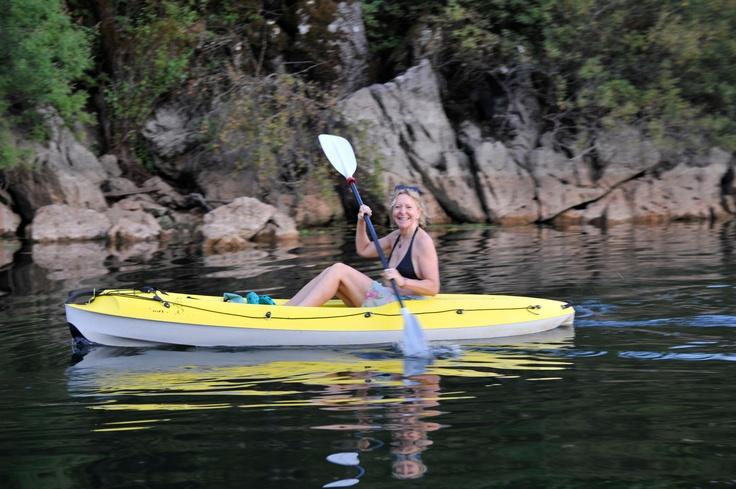 Kayaking on Lake Skardar, Montenegro