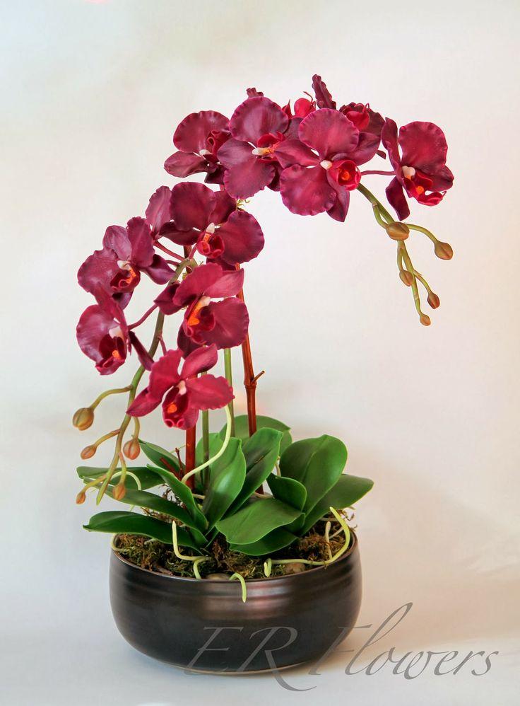 ER Flowers. Arte en porcelana fria...: Orquideas