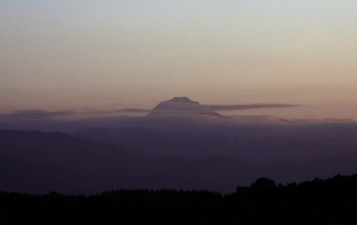 Sunset over the Pic du Midi