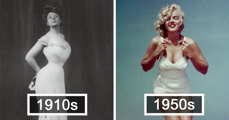 How The �Perfect� Female Body Has Changed In 100 Years