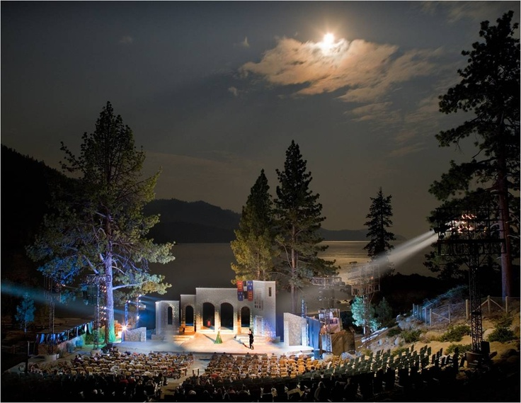 Lake Tahoe Shakespeare Festival is always a summer hit.   It runs July through August at Sand Harbor.