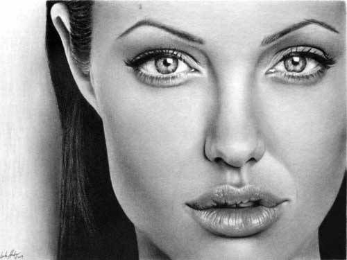 Portrait mastery pencil portrait mastery angelina jolie discover the secrets of drawing realistic pencil portraits discover the secrets of drawing