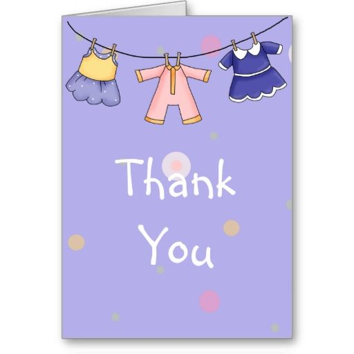 1760 best Baby Shower Thank You Cards images on Pinterest Babys - baby shower thank you notes