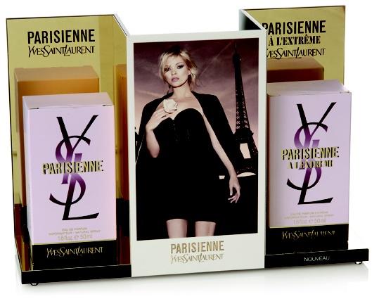 Yves Saint Laurent Parisienne fragrance POP display
