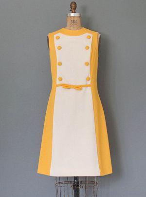 платье в стиле 60