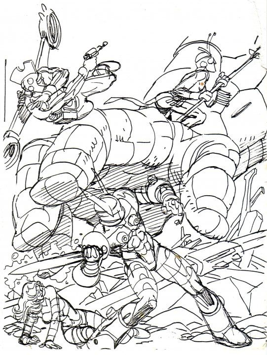 Coloring Book Layout : 73 best gil kane images on pinterest