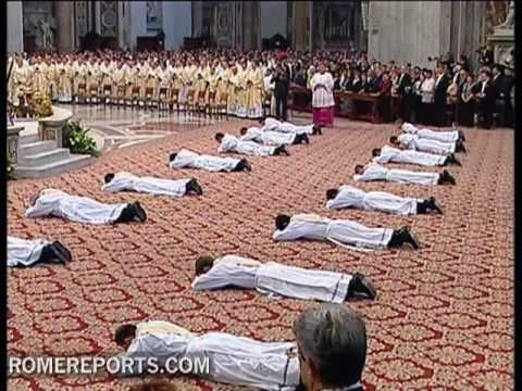 The rite of ordination - YouTube