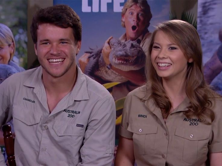 WATCH: Bindi Irwin Says a Pair of Khakis Helped Her Realize Things Were Getting Serious with Boyfriend Chandler Powell http://www.people.com/article/bindi-irwin-boyfriend-chandler-powell-khakis