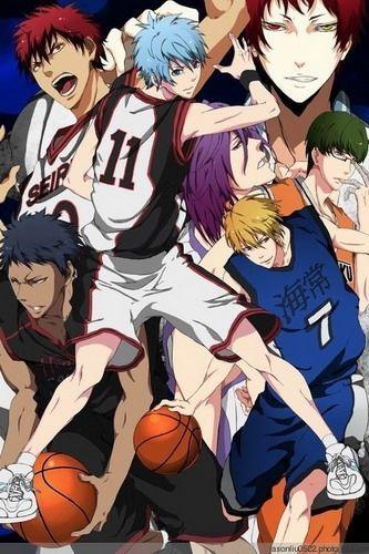 Kuroko's Basketball Anime Characters 45*30CM Wall Scroll Poster #32835