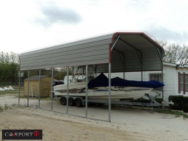 You will find a variety of metal RV shelters from Carport1 that are used as motor home carports, motor coach carports, van carports, fifth-wheel carports, and more.