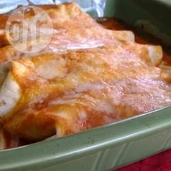 Recipe photo: Chicken enchiladas