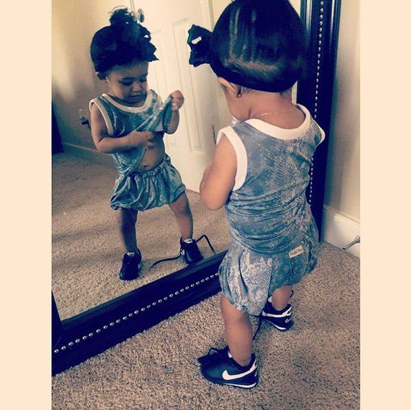 Chris Brown's Daughter Royalty — Pics