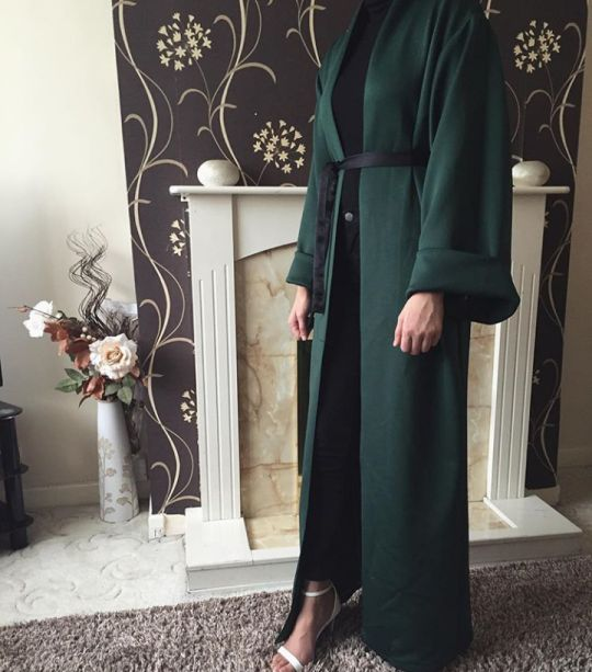 Simple and beautiful Abaya #Abaya #Kimono Ojuju77