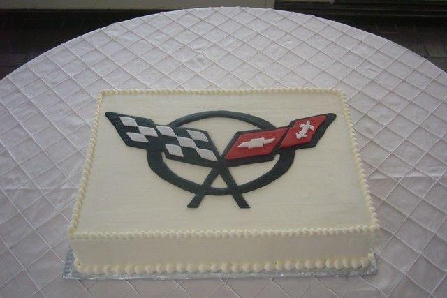 Corvette Grooms Cake