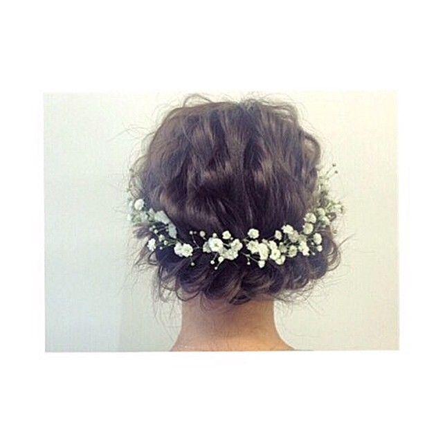 アップスタイル×カスミソウ×編み込み いろんな花を使ってみたい✨ 花にはいろんな意味があるから楽しい! 部屋には観葉植物しかないから花飾ろう✊ 犬も飼おう!笑 #hair#hairstyle#love#style#instagood#instafashion#beauty#girl#美容師#美容院#ヘアアレンジ#ヘアセット#大阪#心斎橋