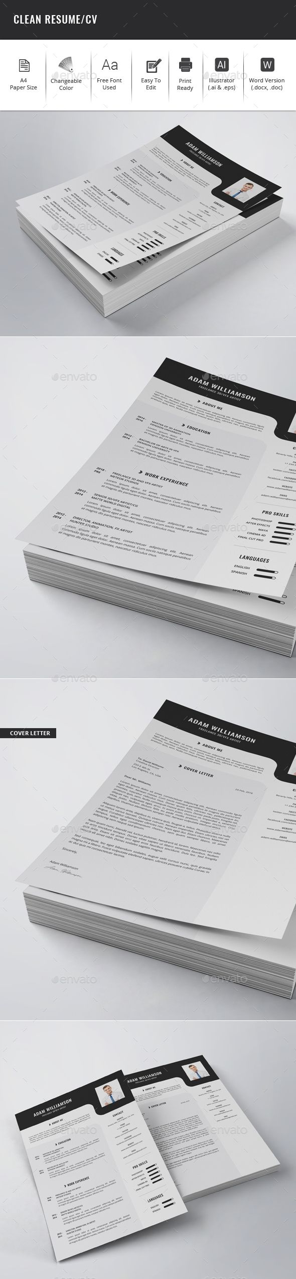 The 25+ best Resume fonts ideas on Pinterest | Resume ideas ...