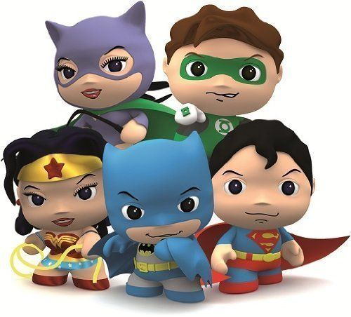 DC Comics Little Mates Green Lantern Figurine And Puff Sticker >>> Want additional info? Click on the image.