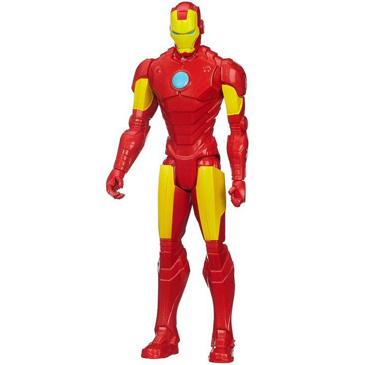 Conheça o divertido Boneco Avengers - Titan Hero Series - Homem de Ferro da Hasbro, e faça das brincadeiras uma verdadeira aventura! Com ele as crianças vão poder criar suas próprias batalhas com um dos personagens mais animados da Marvel.     Um brinquedo desenvolvido com qualidade, que vai proporcionar muitos momentos de alegria e diversão para a criançada.