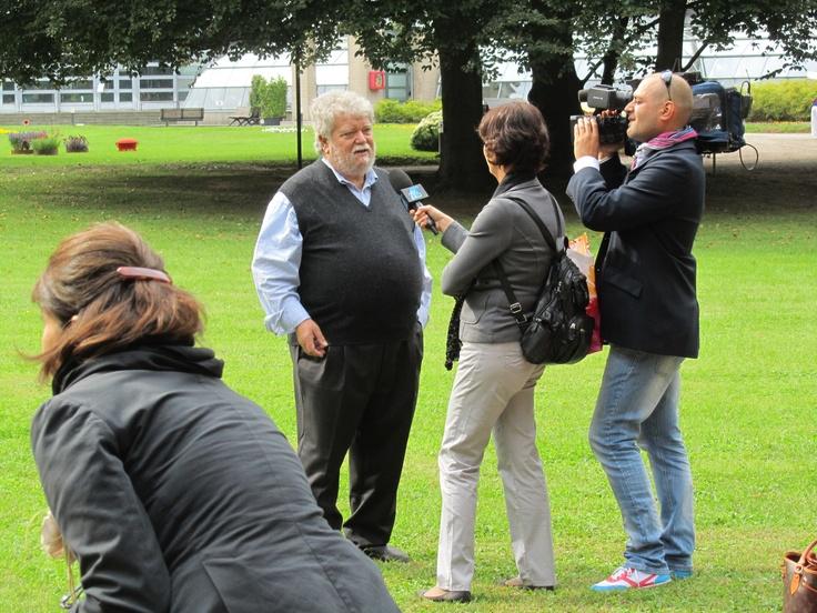 Orticolario 2012. Alfredo Ratti in TV