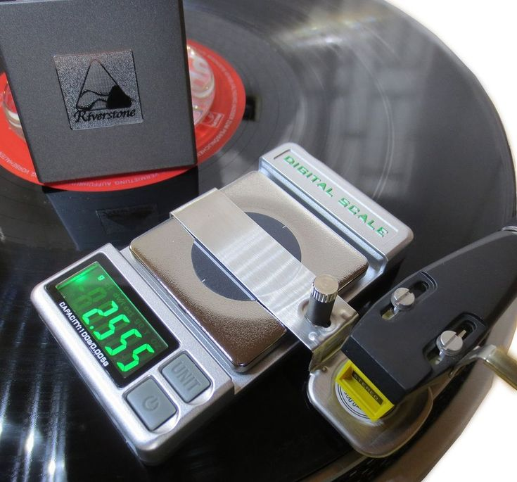 Riverstone Audio Precision Record Level Turntable Stylus Tracking Force Pressure