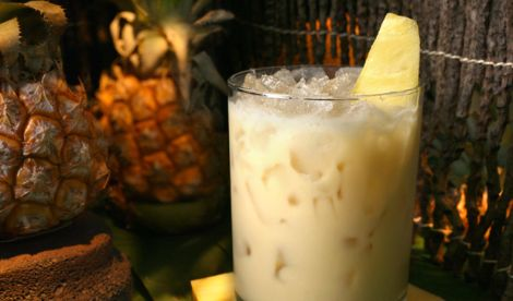 Vacation in a Glass: The Painkiller