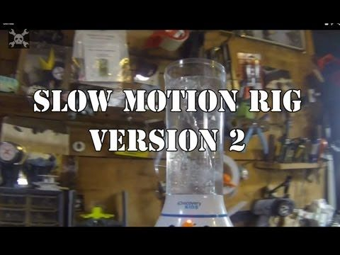 DIY rig for rotating in slow motion