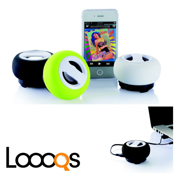 Powerful Bluetooth speaker with 600mAh rechargeable lithium battery to let you enjoy your music wherever you go and without any wires.