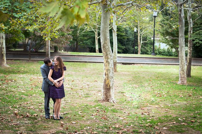 Adam & Michelle's Washington DC engagement pictures in Meridian Hill Park & Constitution Gardens | Images: Chantal Lavine Photography