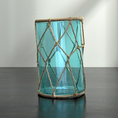 Glass Piller Candle Holder $10.49