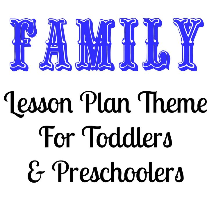 22 Best Family Preschool Theme Images On Pinterest